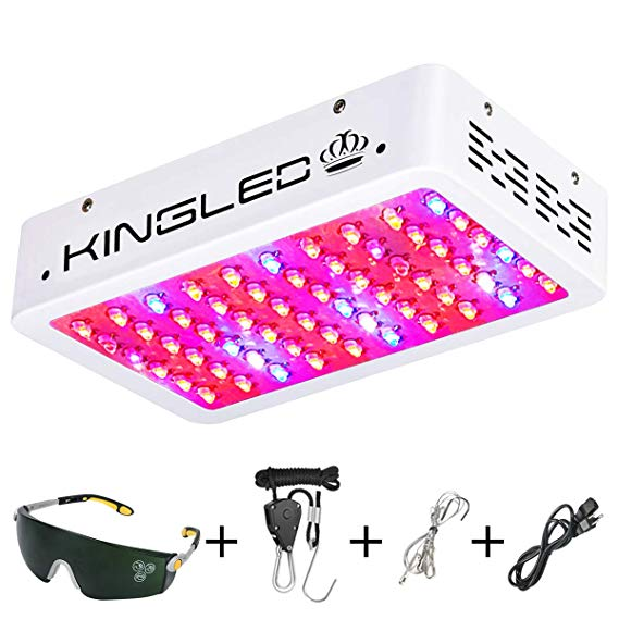 kings led 600w grow light