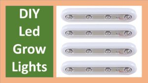 10 Best DIY LED Grow Lights Options For Growing Plants Indoors