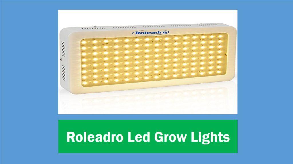 Roleadro LED Grow lights