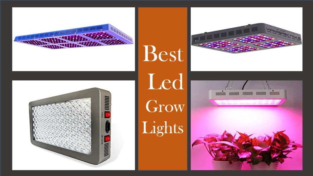 Top 30 Best Led Grow Lights Reviews For Indoor Plants (Updated 2019)