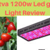 Bestva 1200w Led grow Light Review