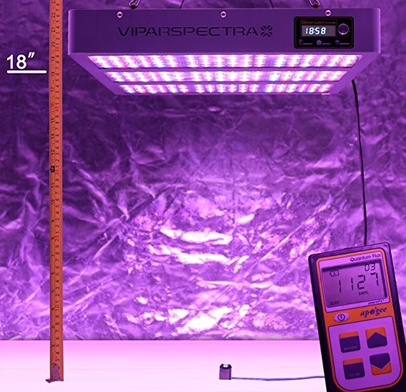 Best LED Grow Light for 5×5 Tent in 2018 For Indoor Growers