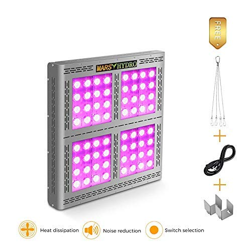 MARS HYDRO 1200W led Grow Light Review 2019